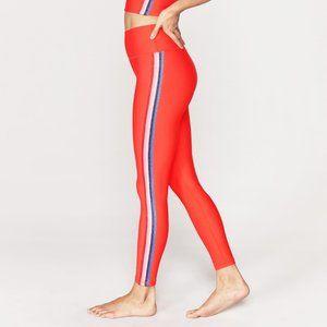 SPIRITUAL GANGSTER High Waist 7/8 Stripe Leggings